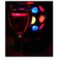 Wine glass disco ball