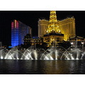 The light show at the Bellagio in Las Vegas