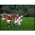 rugby tackle blur