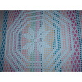 2009 home experience effect bed cover crochet