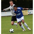 Football player FC Blo Waiss Izeg football team Luxemburg