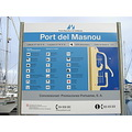 masnou port maresme puerto harbour sea mar beach platja playa map mapa