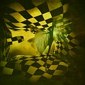 chess series artistic portrait gin spirit room green fable fantasy keitology