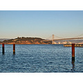sanfrancisco bay view bridge waterfront sfwaterfrontfph island dusk pier