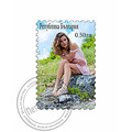stamp poststamp fun photoshop photomanipulation bulgaria cyrilic