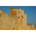 aigues mortes town walls medieval gard france