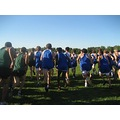 The start of the Elmhurst Invite