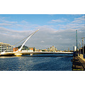 Bridge Liffey River Thomas Beckett Dublin Ireland Peter OSullivan