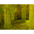 valle crucis abbey llangollen north wales columns crypt ruins