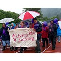RelayForLife Cancer 2009 Otago NZ Dunedin Rain Wet Soggy Survivors