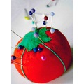 macro pin cushion