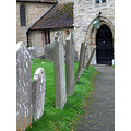 church ancient path gravestones