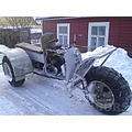 Fisherman´s snow-trike