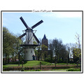 mill church holland netherlands tholen spring landscape nature