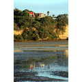 cocklebay cockle bay lowtide low tide reflection landscape
