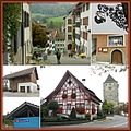 Kaiserstuhl Aargau Switzerland collage