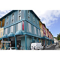 msnoordam cruise ship street buildings view fortdefrance martinique