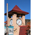 glenwood springs gsfph colorado autumn clocktower clock tower
