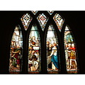 Window in the Church of Tain Highland of Scotland