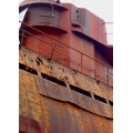Rust abstract texture metal submarine