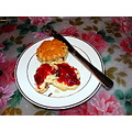 sweetsaturday homemade raspberry jam scones ManiacMom