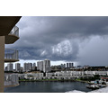 storm aventura florida view condos clouds bay island
