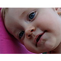 baby portrait close up