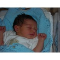 Baby Ethan, born 29.07.06 - taken when only just 9 hours old.