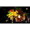 At 8:56pm.On University Ave.,another display as part of the event-Nuit Blanche-Toronto,Ont.,On Sa...