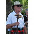 I spotted this dignified gentleman at the Highland Games and just loved his walking stick.  I wou...