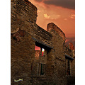 elstow abbey bedford england sunset architecture owl ruins red