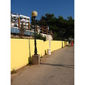 hercegnovi montenegro yellow wall