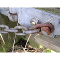 gate metal outside garden