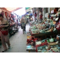 Market place in Beijing in China.