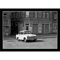 car DDR Trabant East street