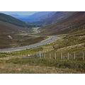 The Long Winding Road Highlands in Scotland