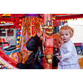 granddaughter child kid friend family funfair