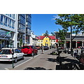 Reykjavik city center.