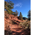 glenwood springs colorado gsfph trail red mountain autumn blue sky