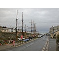 Cornwall Charlestown UK Harbour Sea Coast Sail Ship Boat Sea