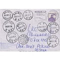 Germany wildbad Heilunkiang Heilongjiang Mohe postmark stamps china chine
