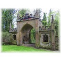 Gateway to Renishaw Hall Derbyshire