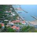 2009 madeira portugal calheta beach artificial sand coast plantations banana