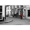 street lady red Looe