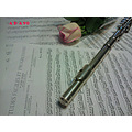 Notes pink rose flower love romance Flute