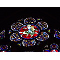 inside notre dame de paris mosaic cathedral gotic art