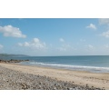 wales scenery beach sea water holiday hot summer
