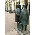 meeting men sculpture