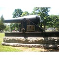 cannon on the town green