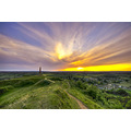 Hamhill Sandstone sunset monument somerset hdr